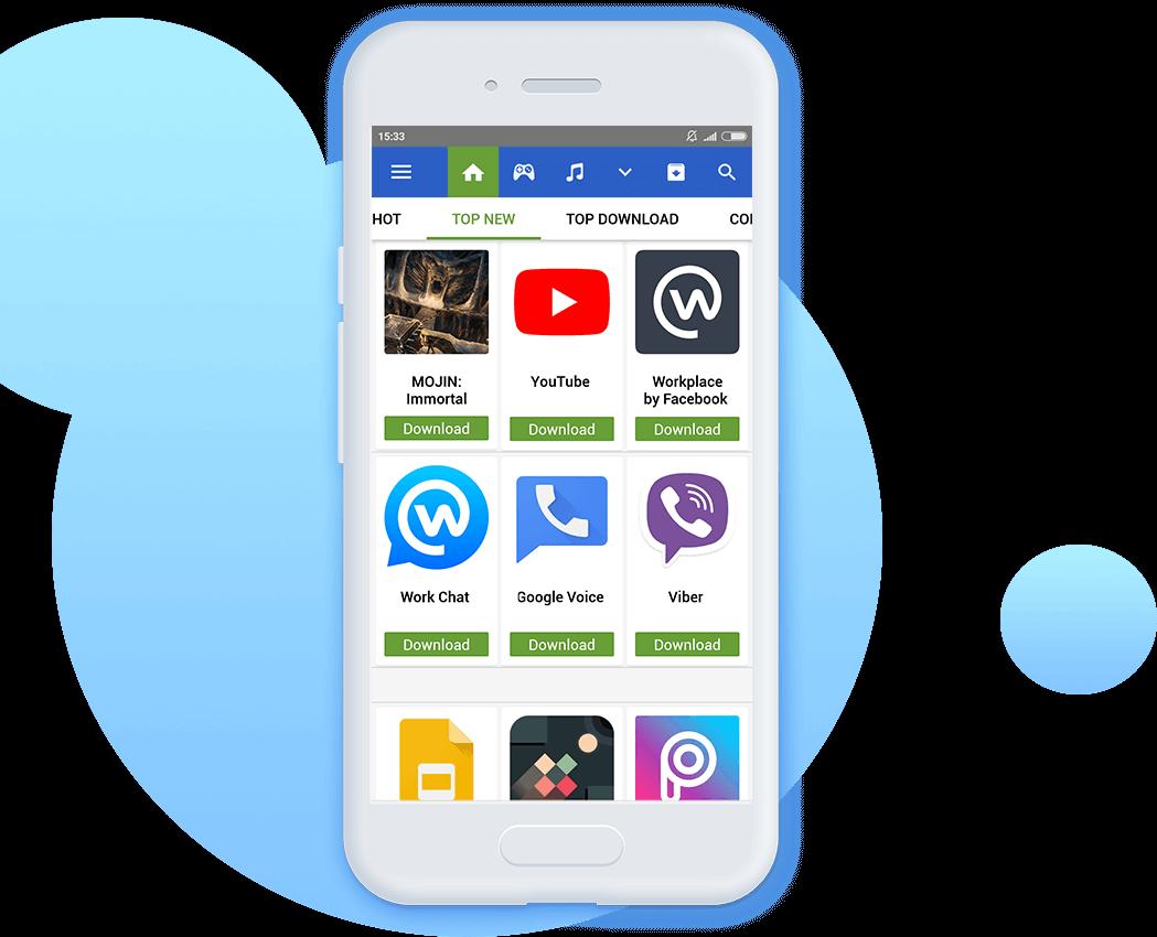 Tải Appvn - Kho tải ứng dụng và game cho Android miễn phí n (n